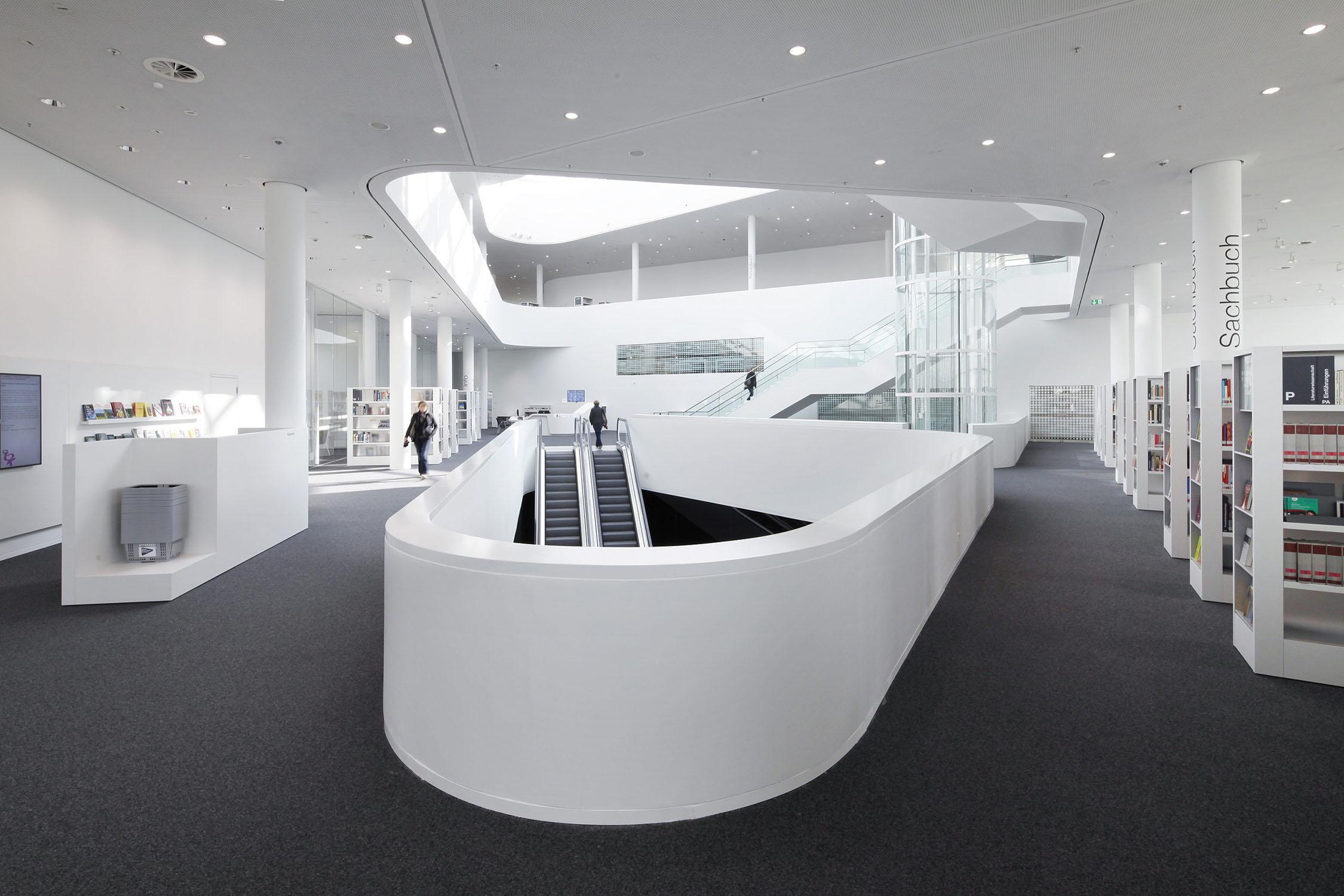 Stadtbibliothek Koblenz   UKW Innenarchitekten