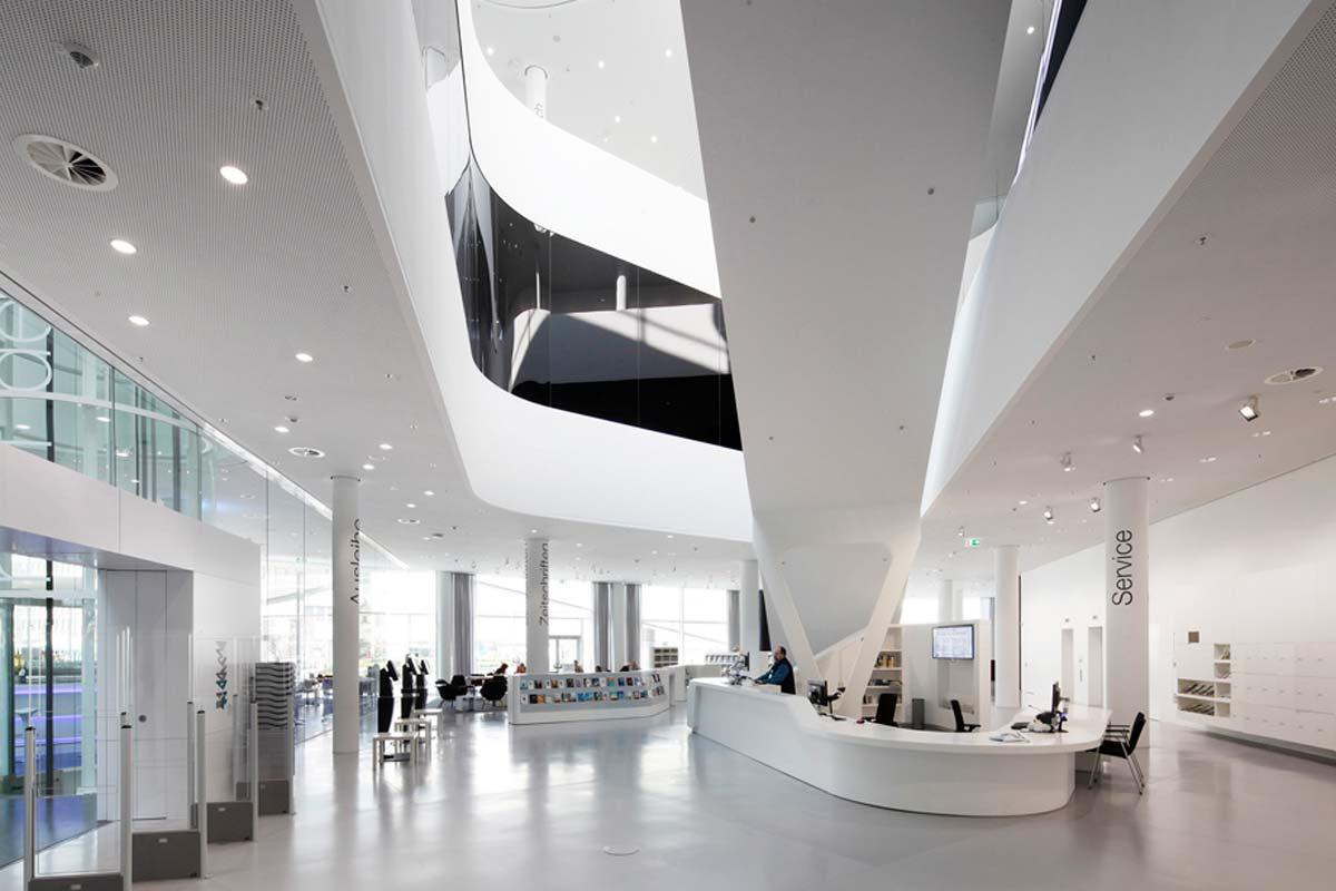 stadtbibliothek koblenz | ukw innenarchitekten, Innenarchitektur ideen