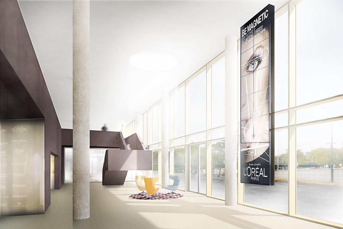 Innenarchitektur Wettbewerb l oréal headquarter düsseldorf wettbewerb ukw innenarchitekten